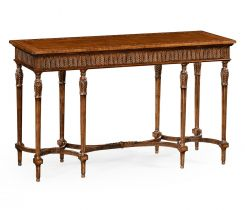 Jonathan Charles Console Table Napoleon with Fine Inlay