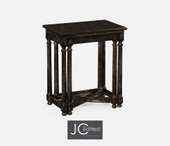 Jonathan Charles Nest of Tables Rustic