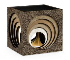 Jonathan Charles Nest of Tables Cube Oriental