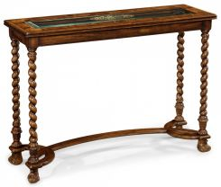 Jonathan Charles Console Table Oyster