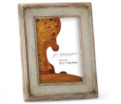 Jonathan Charles 5x7 Picture Frame Painted Rub-Through