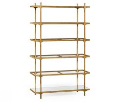 Jonathan Charles Etagere Contemporary Six-Tier