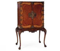 Jonathan Charles Writing Cabinet Queen Anne