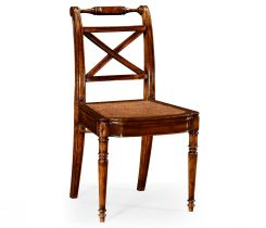 Jonathan Charles Dining Side Chair Monarch with Cross Frame