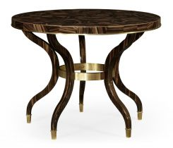 Jonathan Charles Round Centre Table Lustre
