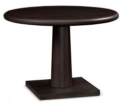 Jonathan Charles Round Dining Table Malaysian in Ash
