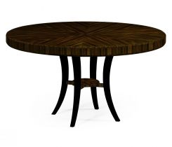 Jonathan Charles Round Dining Table Art Deco Lustre