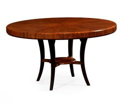 Jonathan Charles Round Dining Table Rosewood