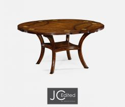Jonathan Charles Round Extending Dining Table Rural