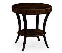 Jonathan Charles Round Side Table Lustre