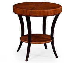 Jonathan Charles Round Side Table Rosewood