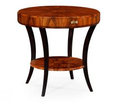 Jonathan Charles Round Side Table with Drawer