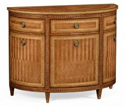 Jonathan Charles Demilune Cabinet French 19th Century