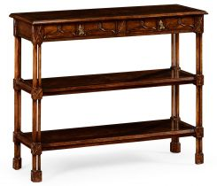 Jonathan Charles Shelving Unit Chippendale Gothic