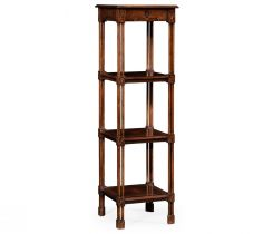 Jonathan Charles Etagere Chippendale Gothic 4 Tier