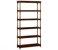 Jonathan Charles Etagere Cottage with Double Column Supports