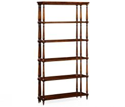 Jonathan Charles Etagere Cottage with Triple Column Supports