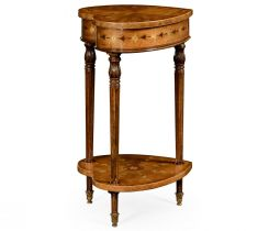 Jonathan Charles Side Table Sheraton Heart