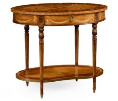 Jonathan Charles Oval Side Table Sheraton