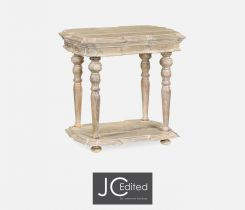 Jonathan Charles Side Table Eclectic