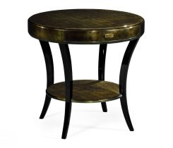 Jonathan Charles Side Table with Drawer Oriental