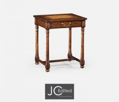 Jonathan Charles Side Table with Drawer Rural