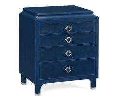 Jonathan Charles Small Chest of Drawers Doha in Oak