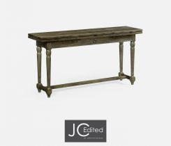 Jonathan Charles Small Extendable Dining Table Chestnut