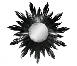 Jonathan Charles Small Wall Mirror Sunburst