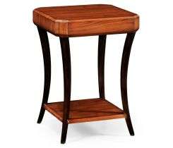 Jonathan Charles Square Side Table Rosewood