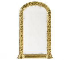 Jonathan Charles Wall Mirror Water Gilded