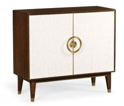 Jonathan Charles Sideboard Crackle Ceramic Lacquer