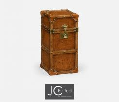 Jonathan Charles Wine Storage Box Travel Trunk